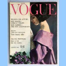 Vogue Magazine - 1960 - August
